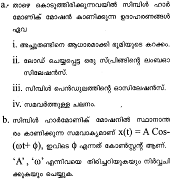 Plus One Physics Previous Year Question Papers and Answers 2017 22
