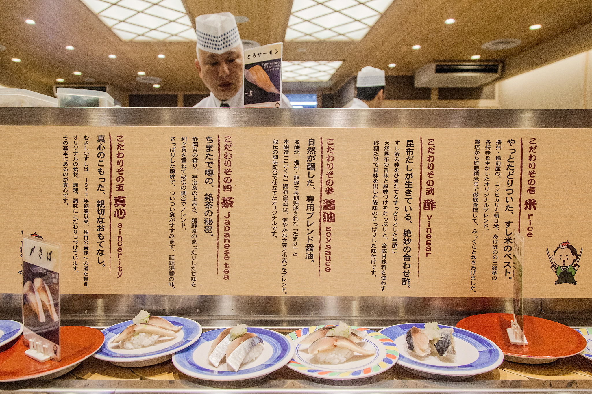 Sushi no Musashi in JR Kyoto Station  寿しのむさし