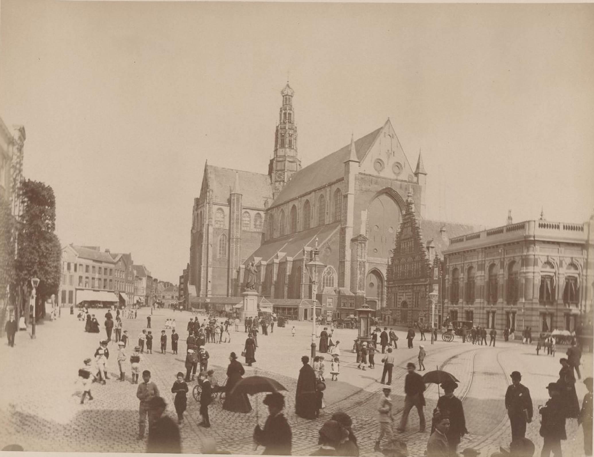 Харлем. Церковь Святого Бавона, 16 мая 1888 года