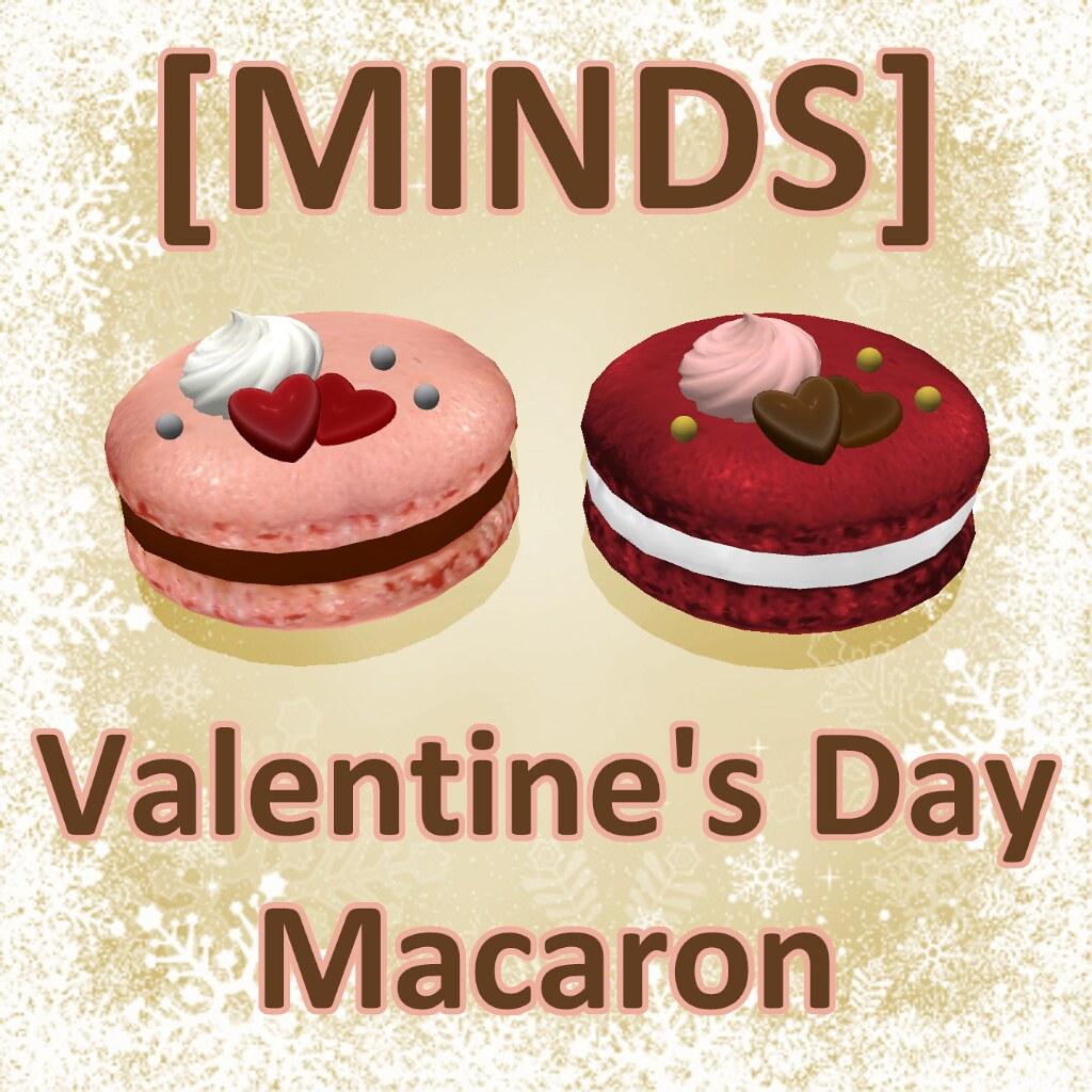 [MINDS] Valentine's Day Macaron AD