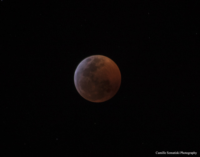 Blood Moon, Nikon D5500, AF-S Nikkor 28-300mm f/3.5-5.6G ED VR