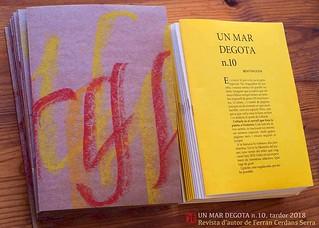 Un mar degota n. 10, revista d'autor de Ferran Cerdans Serra