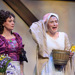 Ella Enchanted at the Arvada Center - Mother (Amy Arpan) and Ella (Lindsay Weidig) Matt Gale Photography 2019