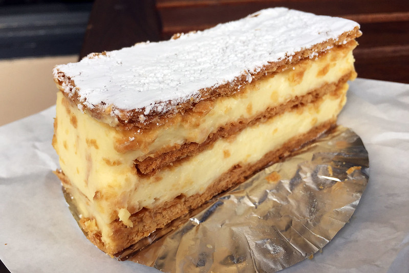 Vanilla slice, Christophe's Patisserie