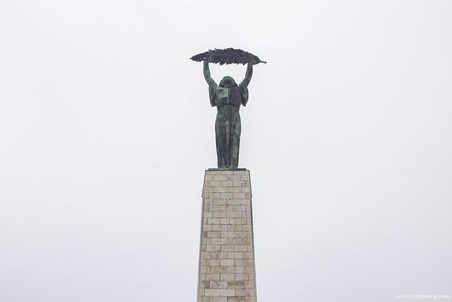 La statua della libertà (Szabadság szobor)