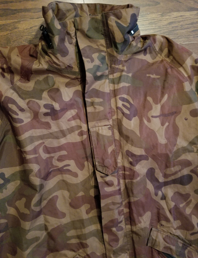 Special forces omeba Goretex smock with liner 31352677957_7584d7670d_o
