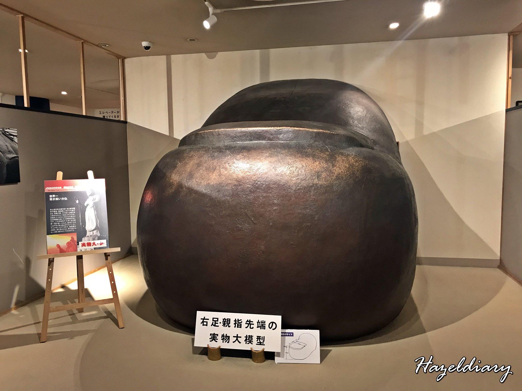 Ushiku Daibutsu Japan-Buddha Toe