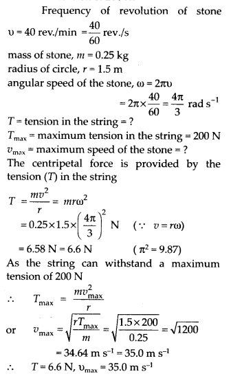 NCERT Solutions for Class 11 Physics Chapter 5 Law of Motion 22