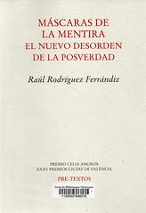 Raúl Rodríguez Ferrándiz, Máscaras de la mentira style=