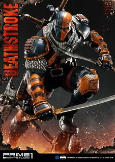 將目標帶入死亡深淵的最強傭兵駕到!! Prime 1 Studio DC Comics【喪鐘】デスストローク MMDC-30EX 1/3 比例全身雕像作品 普通版/EX版