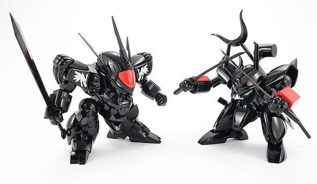 暗黑的魔神是敵是友!?PLAMAX MS-04《魔神英雄傳》暗黑 龍神丸‧戰神丸 套組(ブラック 龍神丸・戦神丸 セット)