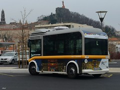 Bluebus E de TUDIP Le Puy en Velay