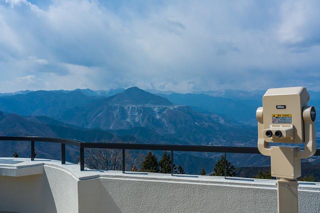 武甲山@丸山山頂の展望台