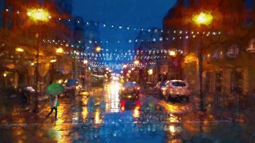St Louis Street sleet