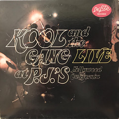 KOOL &THE GANG:LIVE AT THE P.J.'S(JACKET B)