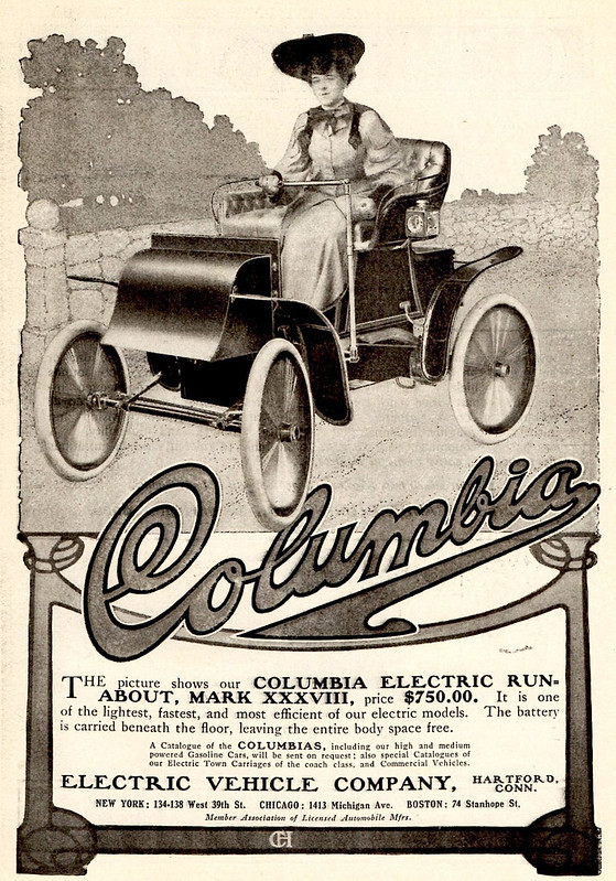 1904 Columbia Mark XXXVIII Electric Runabout