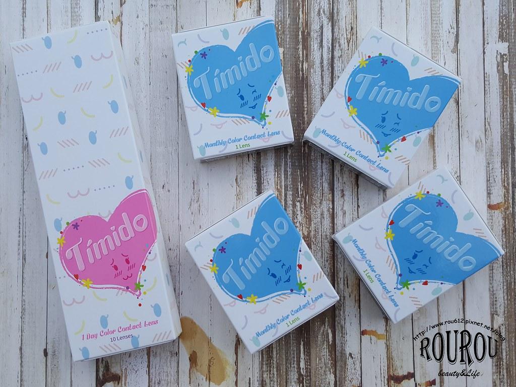 Timido媞蜜多彩色隱形眼鏡1