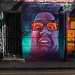 Woskerski wall art, Shoreditch, London E1