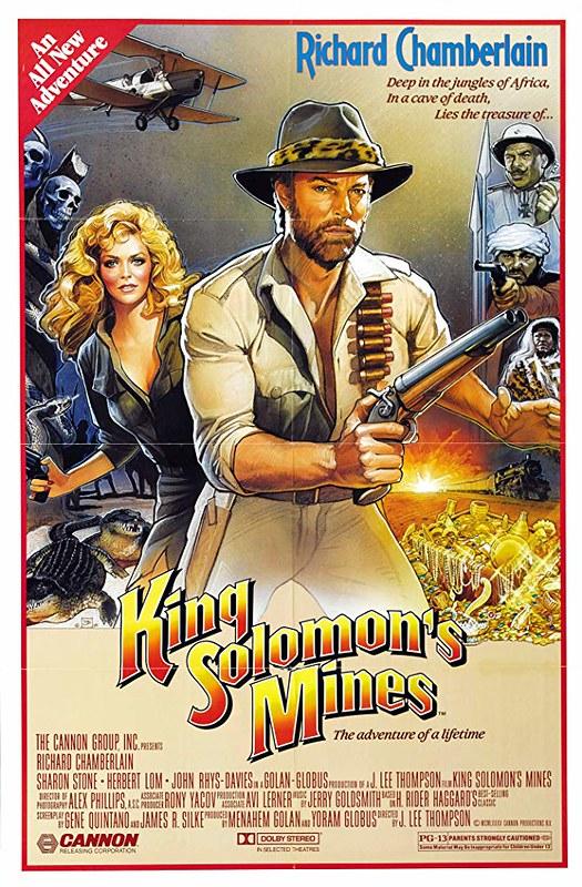 King Solomon`s Mines - 1985 - Poster 5