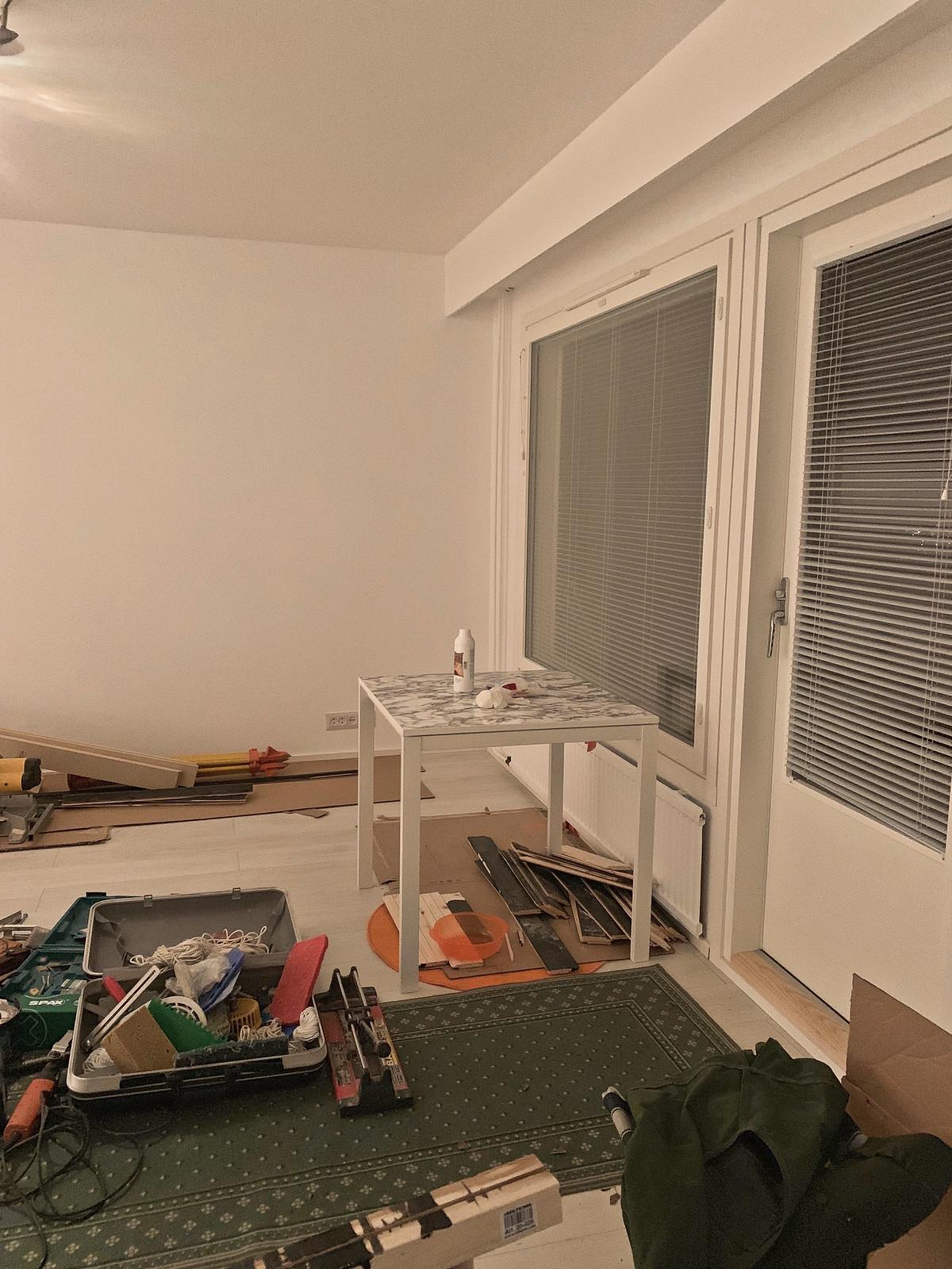 ostettiin asunto remontti