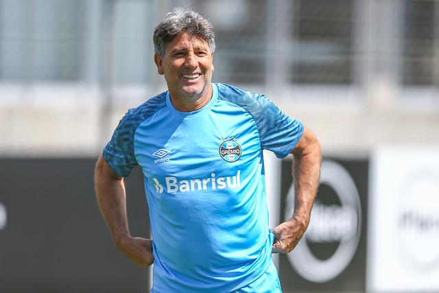 Treino Grêmio 30/11/18