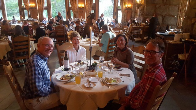 My Dad's birthday dinner at the Ahwahnee by bryandkeith on flickr