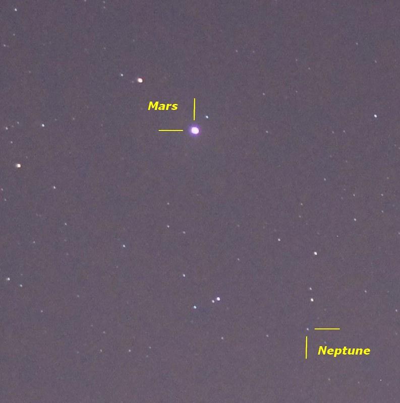 Comète 46P/Wirtanen en décembre 2018 45390609995_6c43141151_c
