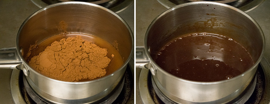 Hot Cocoa cooking steps by GoSpicy.net