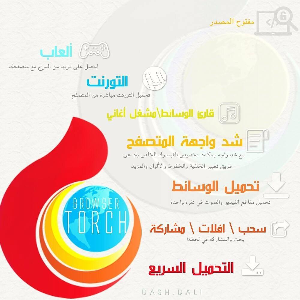 متصفح تورش Torch Browser   Daliah Aljutayli   Flickr