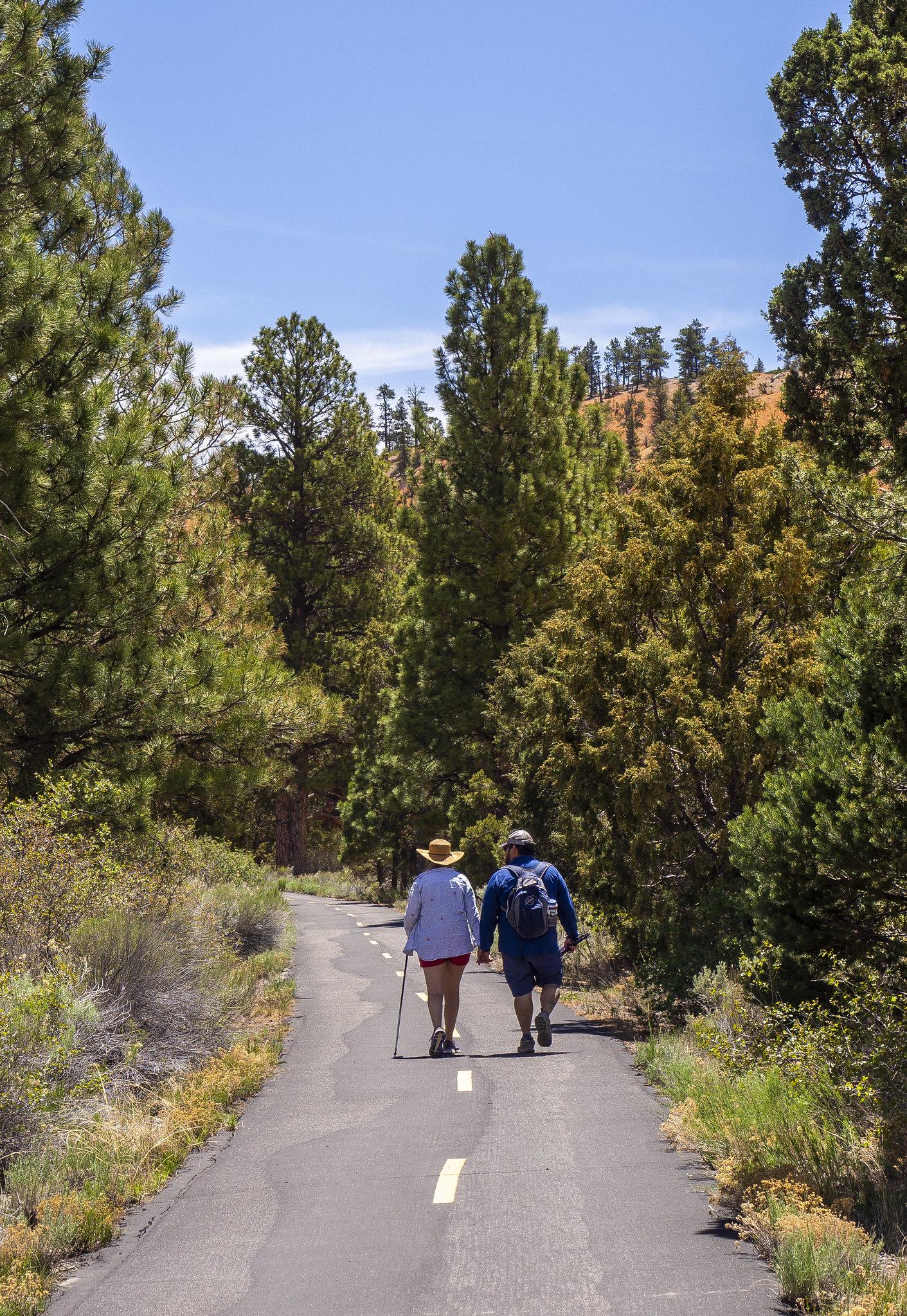 american hikers
