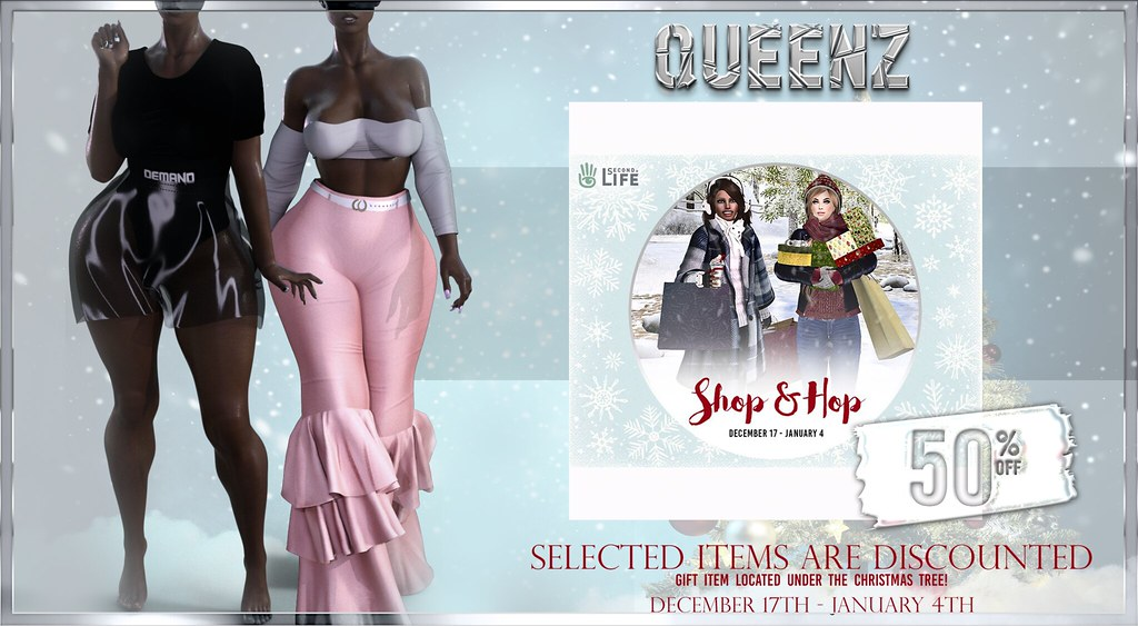 "QUEENZ @ Second Life ""Shop and Hop Winter Shopping Event"" - TeleportHub.com Live!"