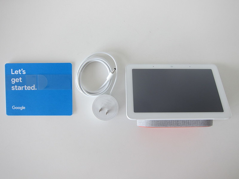 Google Home Hub - Box Contents