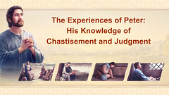 The Experiences of Peter: His Knowledge of Chastisement and Judgment
