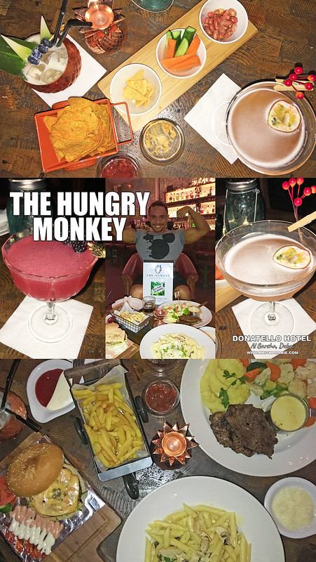 The Hungry Monkey, Donatello Hotel
