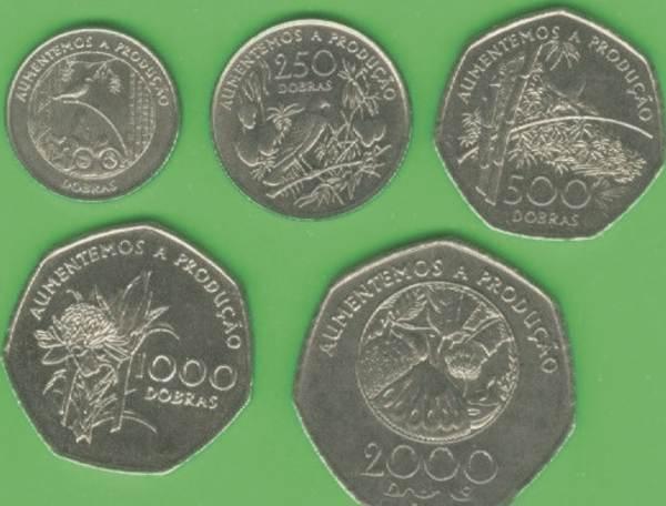 Svätý Tomáš 100-250-500-1000-2000 Dobras 1997
