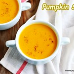 Carrot pumpkin soup
