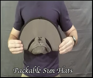 Packable hats