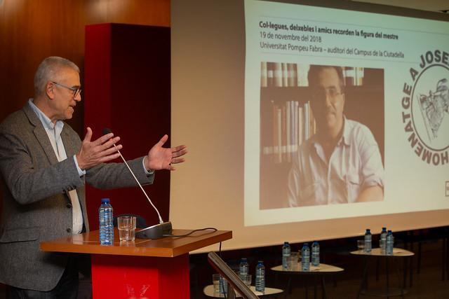 Jornada acadèmica d'homenatge a Josep Fontana