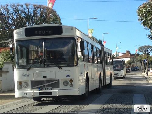 A.V. Souto Volvo B10M Bendy Bus - Santa Maria da Feira