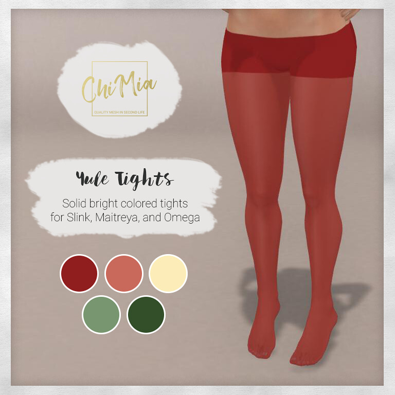 Yule Tights for TLC December - TeleportHub.com Live!