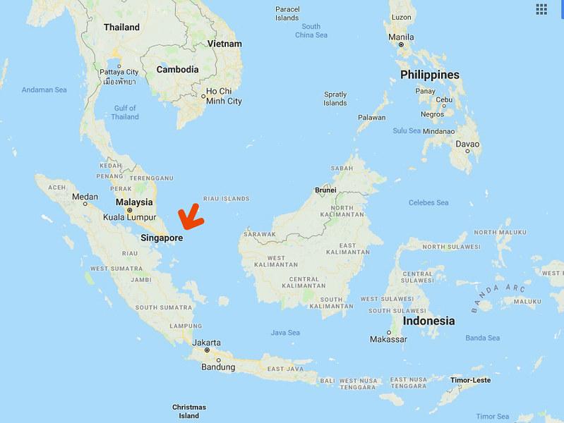 Singapore Location