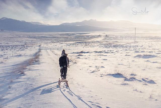 Winter in West Iceland - Dalabyggð
