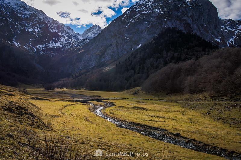 Es Pois y el río Joèu