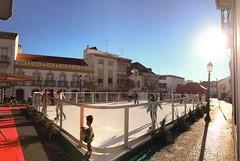 Unreal Ice Rink in Coruche (Portugal)