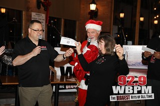 92.9 WBPM Grab Bag Christmas Party at Ole Savannah