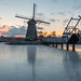 Kinderdijk February this Year by Wim Boon Fotografie