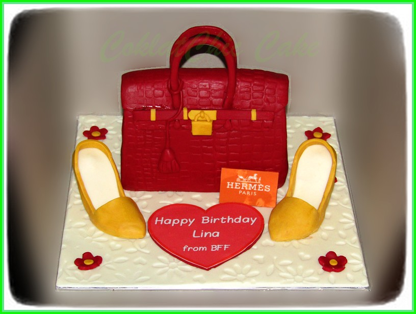Cake Branded Bag & Shoes LINA15 cm