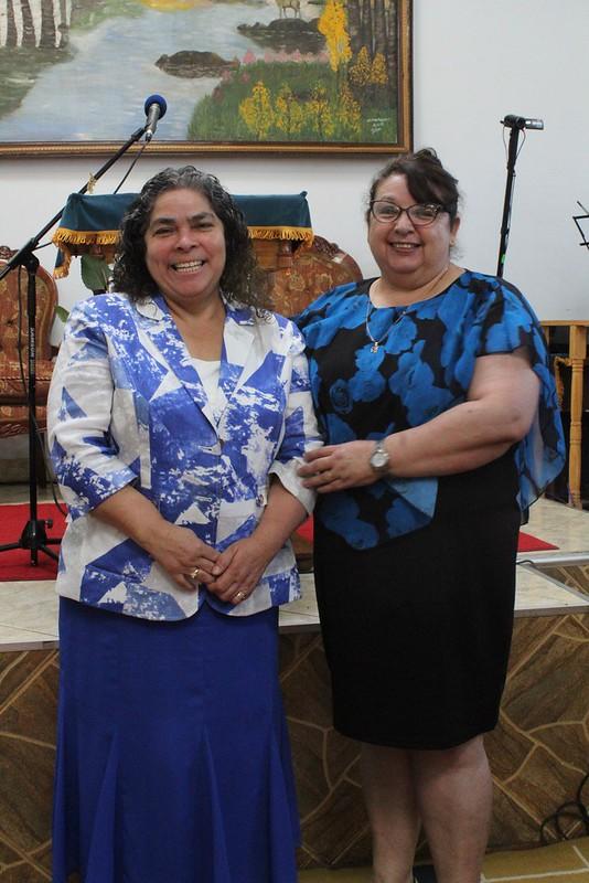 Nuevos pastores naciente Iglesia El Castillo
