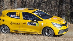 S Clair at Basse Correo Stage on Monte-Carlo Rally - Photo of Lettret