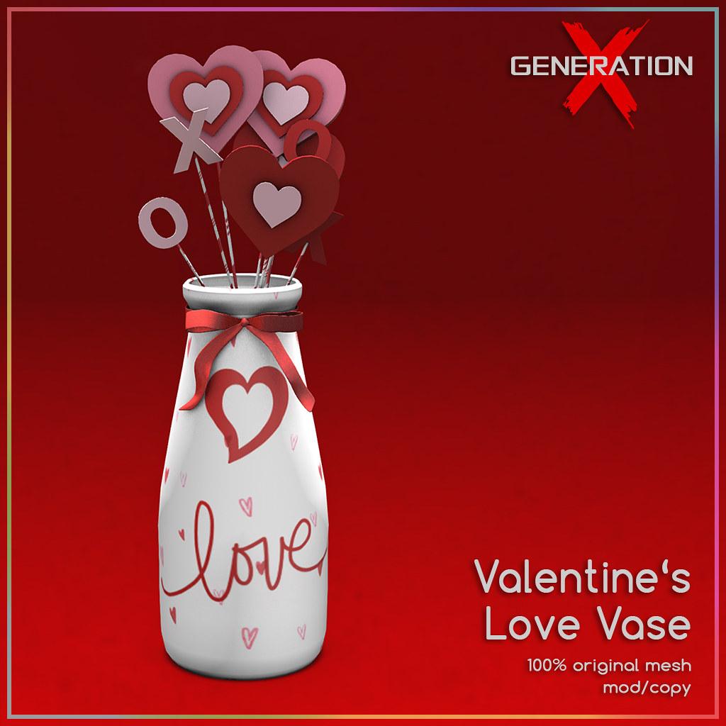 *FREE* [ Generation X ] Valentine's Love Vase @ Versus Event
